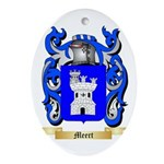 Meert Oval Ornament