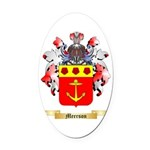 Meerson Oval Car Magnet