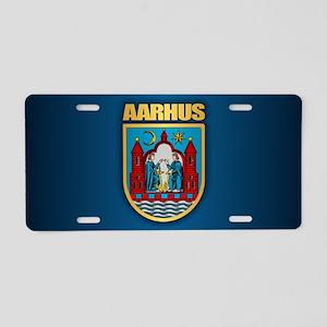 Aarhus Aluminum License Plate