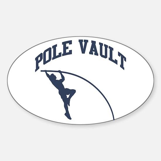 Cute Athletics Sticker (Oval)