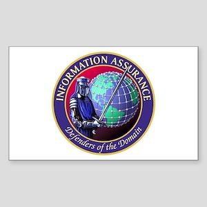 Information Assurance Sticker (Rectangle)