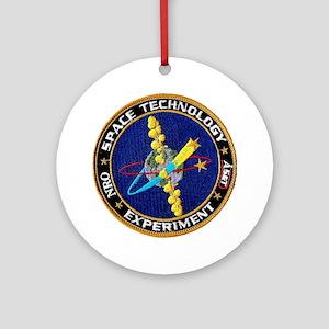 L-8 Space Tech Experiment Round Ornament