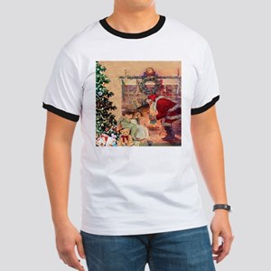 The Night Before Christmas Ringer T