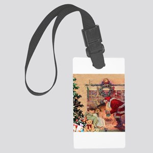 The Night Before Christmas Large Luggage Tag
