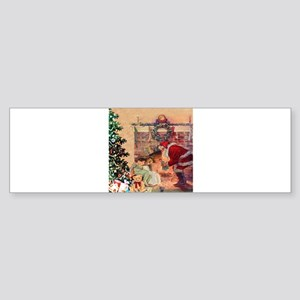 The Night Before Christmas Sticker (Bumper)