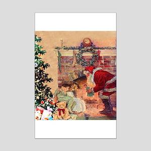 The Night Before Christmas Mini Poster Print