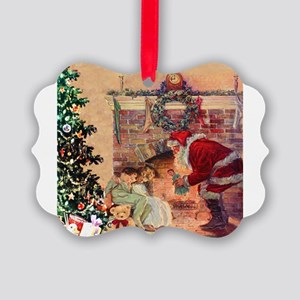 The Night Before Christmas Picture Ornament