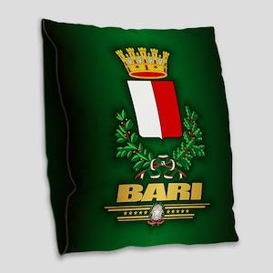 Bari Burlap Throw Pillow
