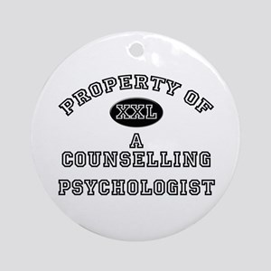 Property of a Counselling Psychologist Ornament (R
