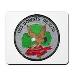 USS DOWNES Mousepad
