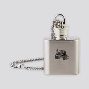 Doc's Jeep Flask Necklace
