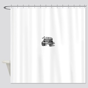 Doc's Jeep Shower Curtain