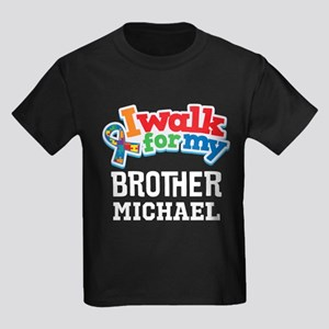 Autism Walk For Brother Personalized T-Shirt