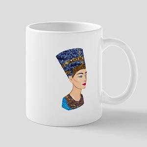 egyptian queen nefertiti Mugs