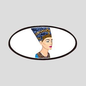 egyptian queen nefertiti Patch