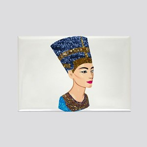 egyptian queen nefertiti Magnets