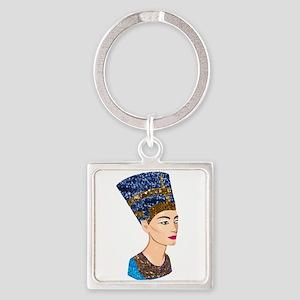 egyptian queen nefertiti Keychains