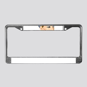 egyptian queen nefertiti License Plate Frame