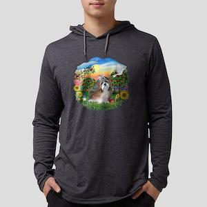 BrightCoiuntry-ShihTzu8 Mens Hooded Shirt