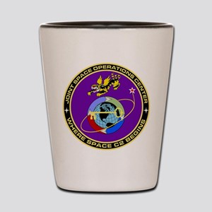 Jt Space Ops Ctr Shot Glass