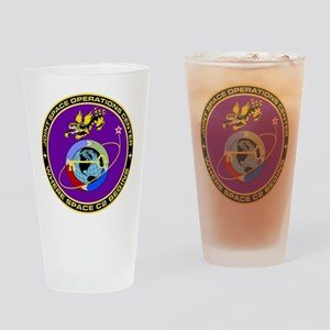 Jt Space Ops Ctr Drinking Glass