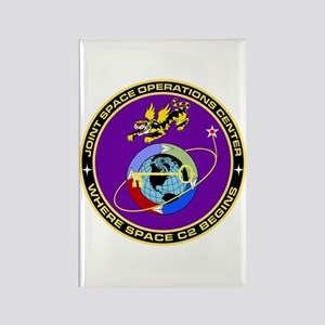 Jt Space Ops Ctr Rectangle Magnet