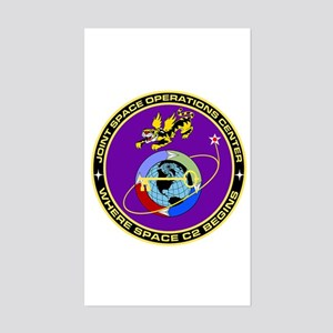Jt Space Ops Ctr Sticker (Rectangle)