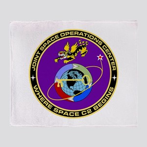 Jt Space Ops Ctr Throw Blanket