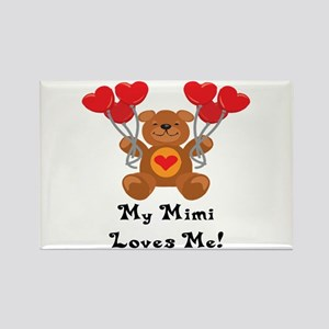 My Mimi Loves Me! Rectangle Magnet