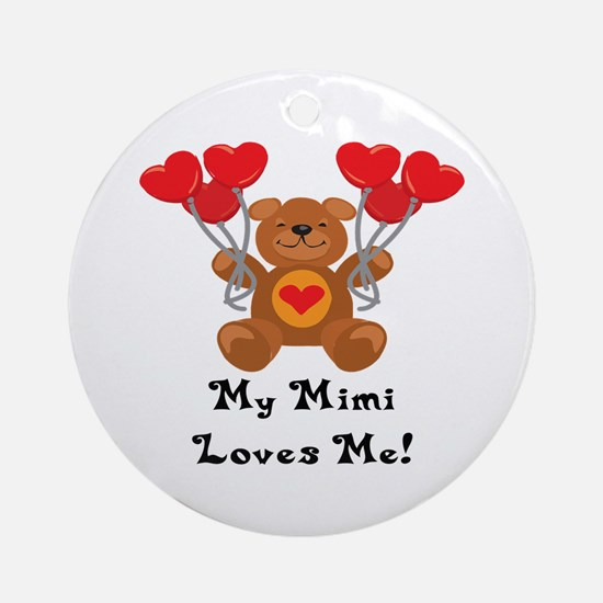 My Mimi Loves Me! Ornament (Round)