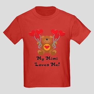 My Mimi Loves Me! Kids Dark T-Shirt