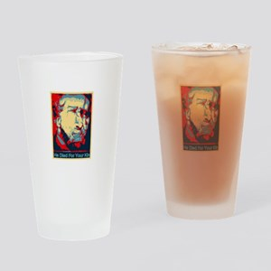 He Died for Your Kin Drinking Glass