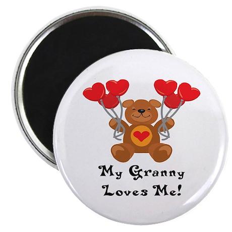My Granny Loves Me! Magnet