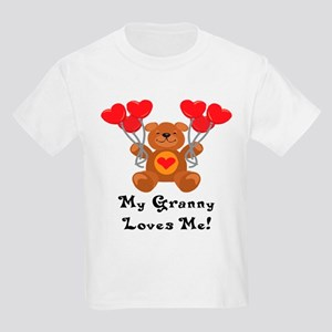 My Granny Loves Me! Kids Light T-Shirt
