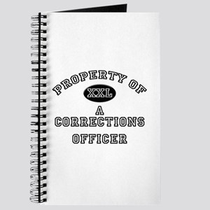 Property of a Corrections Officer Journal