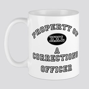 Property of a Corrections Officer Mug