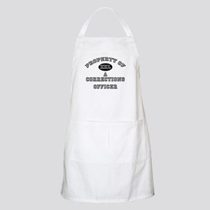 Property of a Corrections Officer BBQ Apron