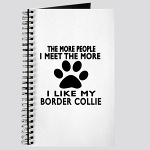 I Like More My Border Collie Journal