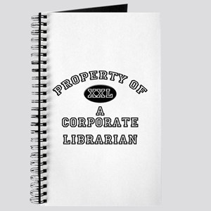 Property of a Corporate Librarian Journal
