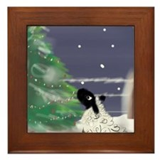 On a Cold Winter's Night Framed Tile