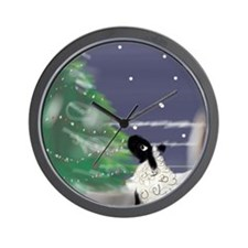 On a Cold Winter's Night Wall Clock