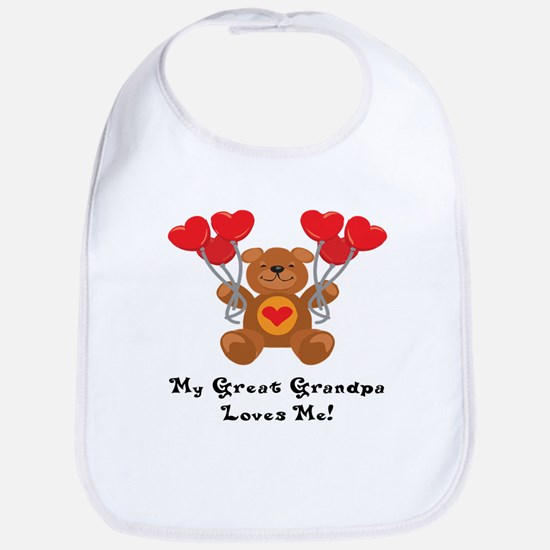 My Great Grandpa Loves Me! Bib