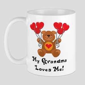 My Grandma Loves Me! Mug