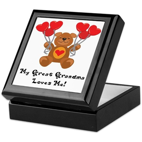 My Great Grandma Loves Me! Keepsake Box