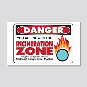 Incineration Zone Car Magnet 20 X 12