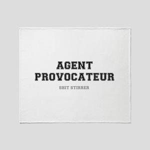 AGENT PROVOCATEUR - SHIT STIRRER Throw Blanket