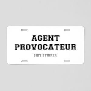 AGENT PROVOCATEUR - SHIT ST Aluminum License Plate