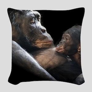 Affectionate Close Woven Throw Pillow