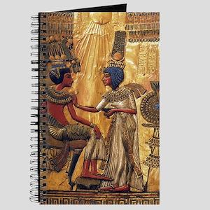 Tutankhamun Ankhesenamun Egypt Gold Journal