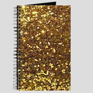 Luxurious Glamorous Sparkle Glitter Bling Journal